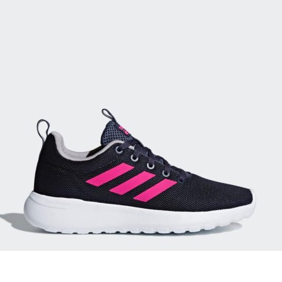 Adidas Women Cloudfoam CF Lite Racer Blue/Pink